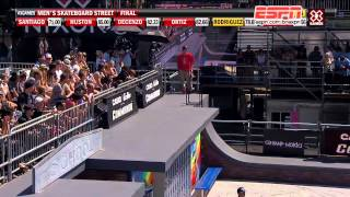 x games 2012 paul rodriguez ouro na final do skate street