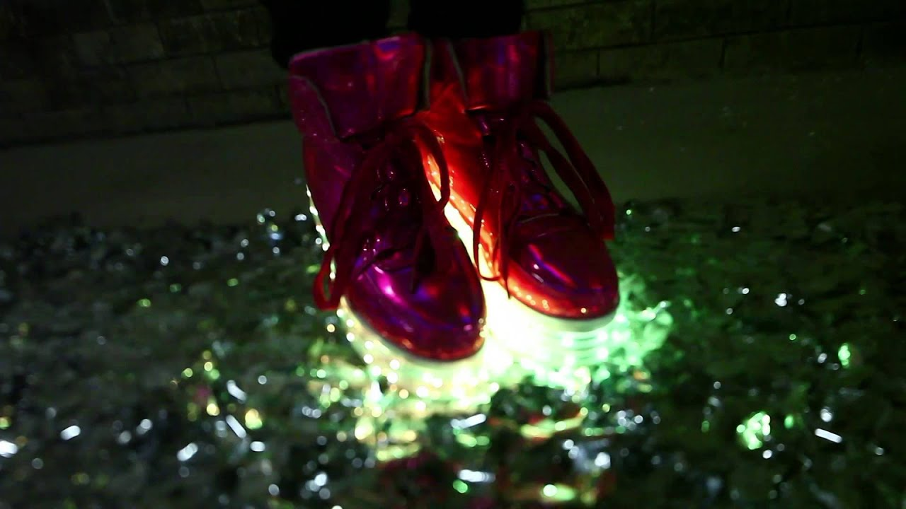 1546c3a1ad1 Neon Nancy s New LED Shoe Collection