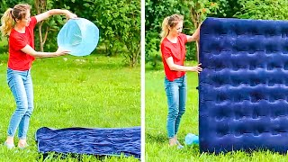 That's wild! |34 LIFE-SAVING CAMPING HACKS YOU SHOULD KNOW