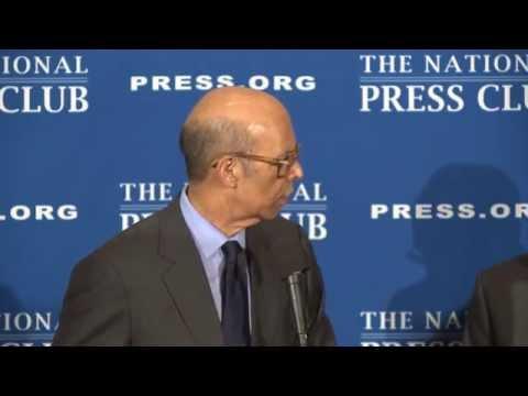 Dr. Michael L. Lomax speaks at the National Press Club - Mar. 25, 2014