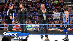 AJ Styles trifft bei No Mercy auf Dean Ambrose und John Cena: SmackDown LIVE, 13. September 2016
