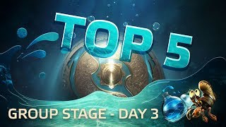 TOP5 Highlights TI7 Group stage - Day 3