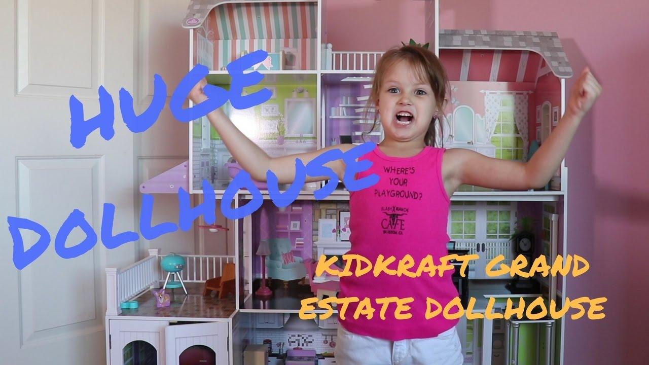KidKraft Grand Estate Dollhouse  Huge Dollhouse  YouTube