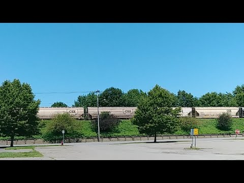 CSX Train Live Streaming Action Westbound