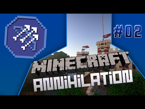 Minecraft Annihilation 2.0 #2 - FullGame speed up on Coastal!