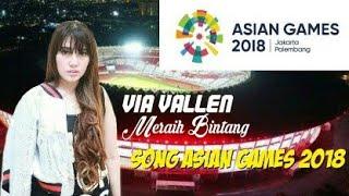 Gambar cover Song Asian Games 2018(Via Vallen-Meraih Bintang)