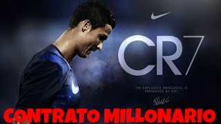 Cristiano Ronaldo firma un contrato millonario con NiKe