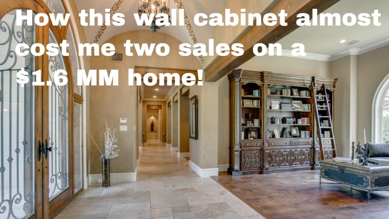 The Wall Cabinet That Almost Cost Me Two Sales on a $1.6 Million Home
