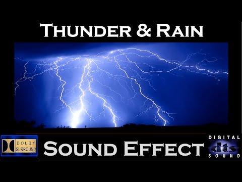 Thunder and Rain Surround Sound Effect