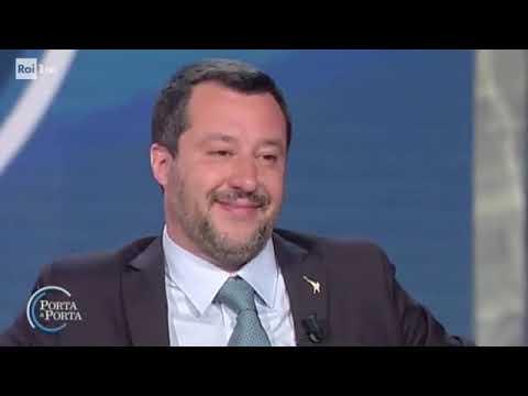 MATTEO SALVINI OSPITE DA BRUNO VESPA (20.03.2019)