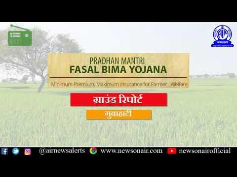 298 Ground Report on Pradhan Mantri Fasal Bima Yojana (Hindi) from  Guwahati, Assam.
