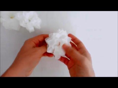 DIY Budget Friendly Decor Tissue Paper Flower