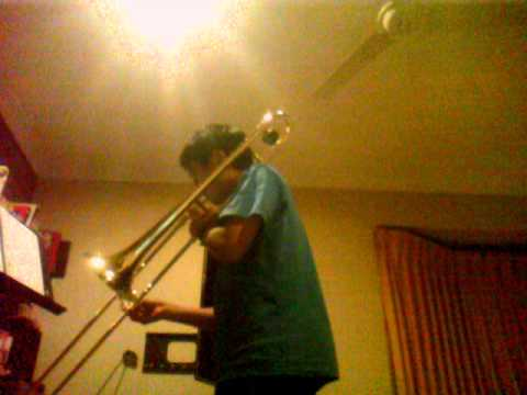 Lightly Row Trombone YouTube