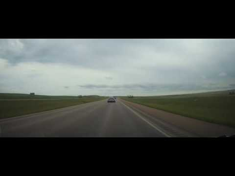 Driving from Rapid City, SD to Wall Drug in South Dakota on Interstate 90