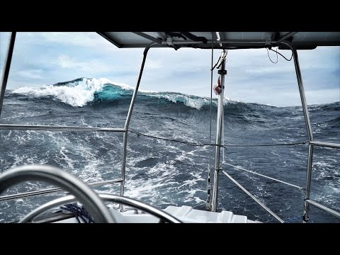 Biggest Waves We've Ever Seen — DAY 10 / North Atlantic Crossing — Sailing Uma [Step 192.10]