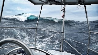 Biggest Waves We've Ever Seen - DAY 10 / North Atlantic Crossing - Sailing Uma [Step 192.10]
