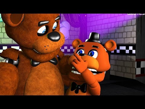 CUTEST & TINY Five Nights At Freddys Animations Compilation FNAF SFM