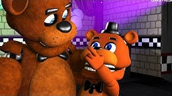 CUTEST & TINY Five Nights At Freddy's Animations Compilation FNAF SFM
