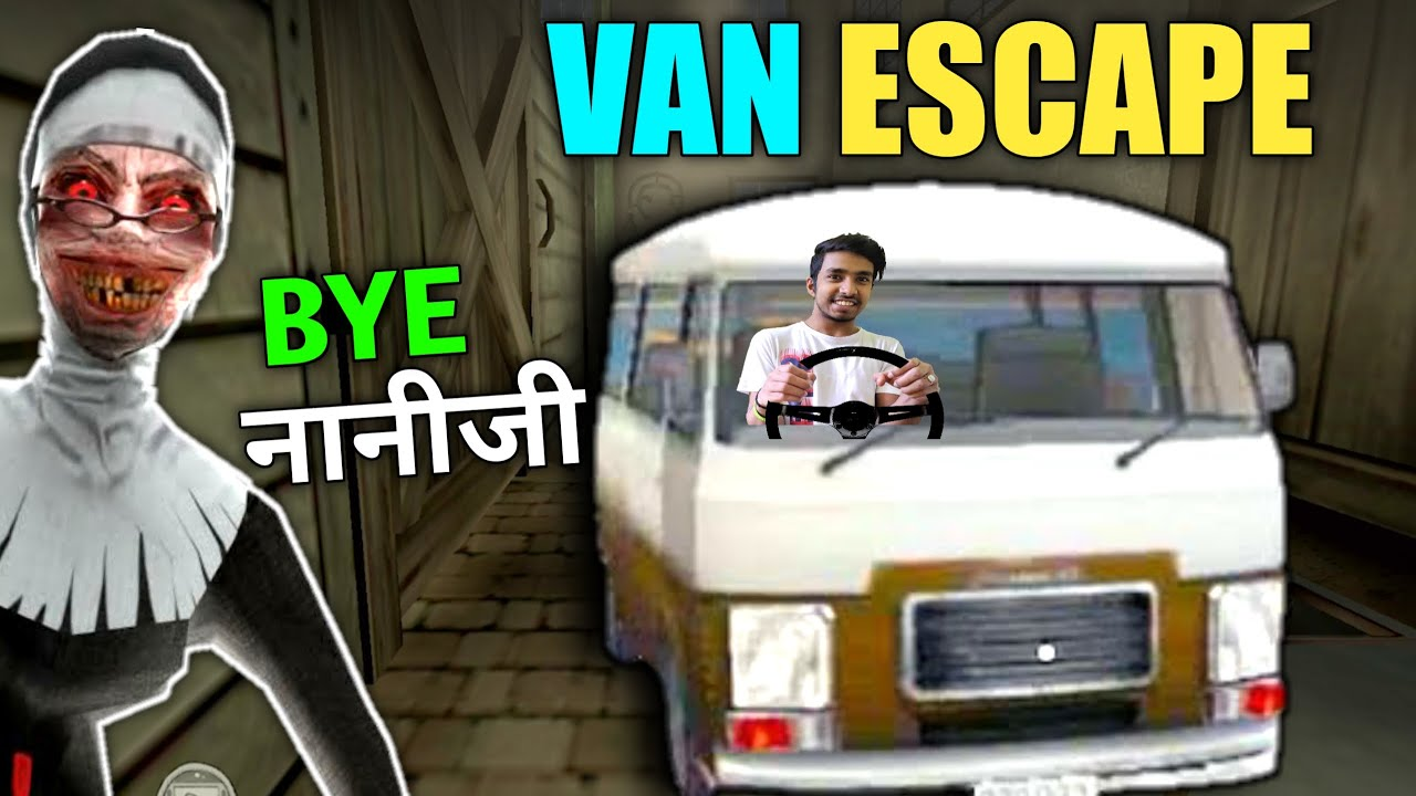 VAN ESCAPE FROM NANI'S SCHOOL | EVIL NUN HORROR GAMEPLAY #1