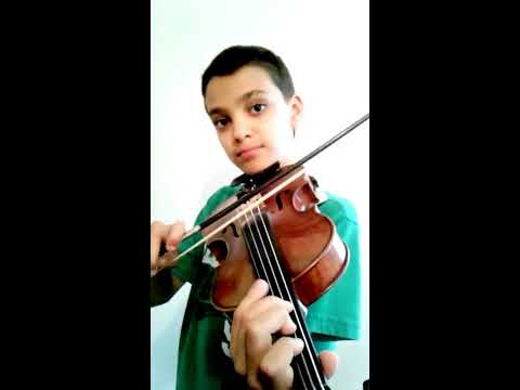 How to play Super Mario on violin