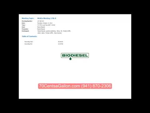 Enzymatic Biodiesel Production Made Easy
