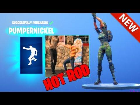 *NEW* PUMPERNICKEL DANCE EMOTE! (HOT ROD MOVIE) FORTNITE BATTLE ROYALE