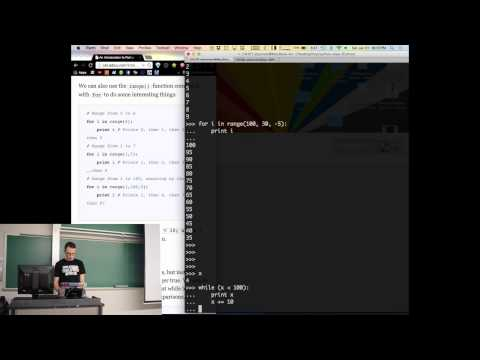 DevFest 2015: Python Workshop