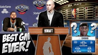 NBA 2K14 Pelicans MyGM #21 - The Best NBA Draft Ever, We Are Making Moves!