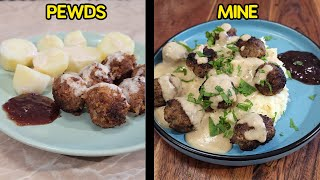 I Tried Pewdiepie&#39s Swedish Meatballs Recipe and here&#39s how it went...