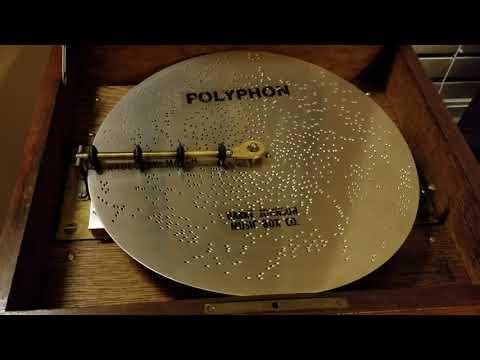 "Polyphon 11"" Music Box plays Disc 2326 ""Radetzky March"""