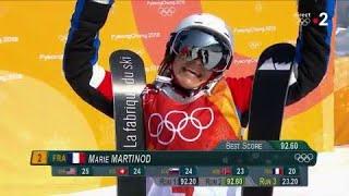 JO 2018 : Ski acrobatique - Half-pipe femmes : Marie Martinod en argent !
