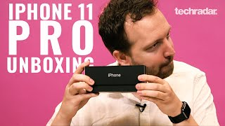 iPhone 11 Pro Unboxing