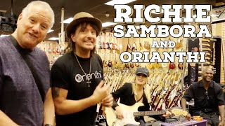 Richie Sambora and Orianthi shops at Norman