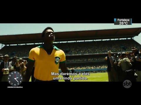 Novo filme que conta a história da infância de Pelé estreia no dia 26/10 | SBT Notícias (17/10/17)