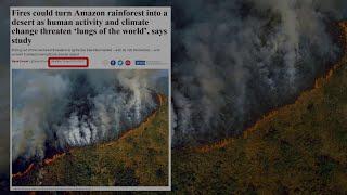 L'Amazzonia brucia e i social pregano per la foresta con le foto sbagliate