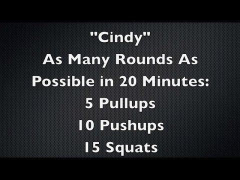Crossfit - Cindy Workout - YouTube |Cindy Crossfit