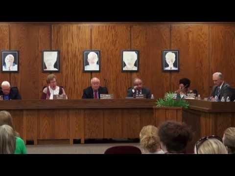 Davis County School Board Meeting  9-16-14 - Attendance