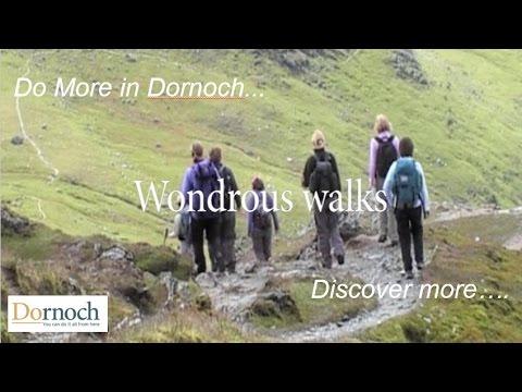 Beautiful Walks & Walking In and Around Dornoch Scotland