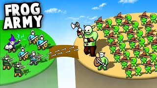 LEGENDARY Goblin FROG ARMY Conquers the World! (Circle Empires Update Gameplay)