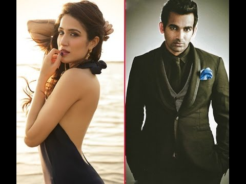 a girl trying to flirt with zaheer khan