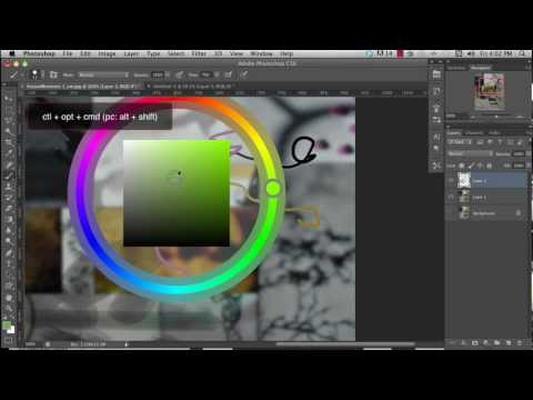 Intro to Photoshop CS6-Part 2 - Brushes, Color Picking and Painting