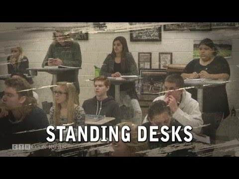 Standing Desks Keeping Students on Their Toes at Andover High School