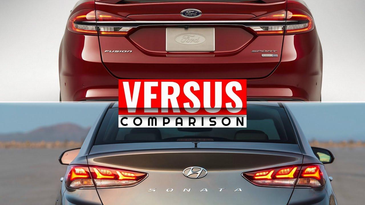Superb 2018 Hyundai Sonata Vs Ford Fusion