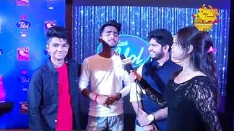 Top 3 indian idol contestant Azmad, Adriz ghosh, Ridham kalyan full interview