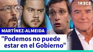 """Almeida: """"Sánchez indultará a Pablo Hasél si le conviene"""""""
