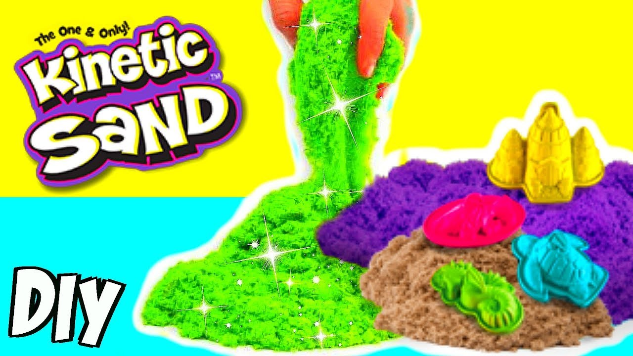diy kinetic sand i magnetischer slime selber machen anleitung i patdiy youtube. Black Bedroom Furniture Sets. Home Design Ideas