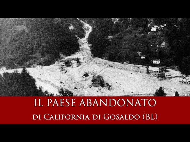 Il paese abbandonato di California di Gosaldo