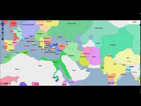 Middle East, West Asia and Europe 525 - 1430