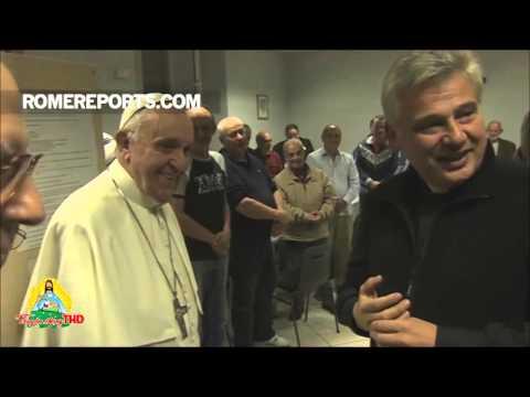 Đức Giáo Hoàng Phanxico bất ngờ đến thăm nhà trọ