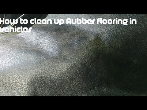 How to Clean Rubber Floors